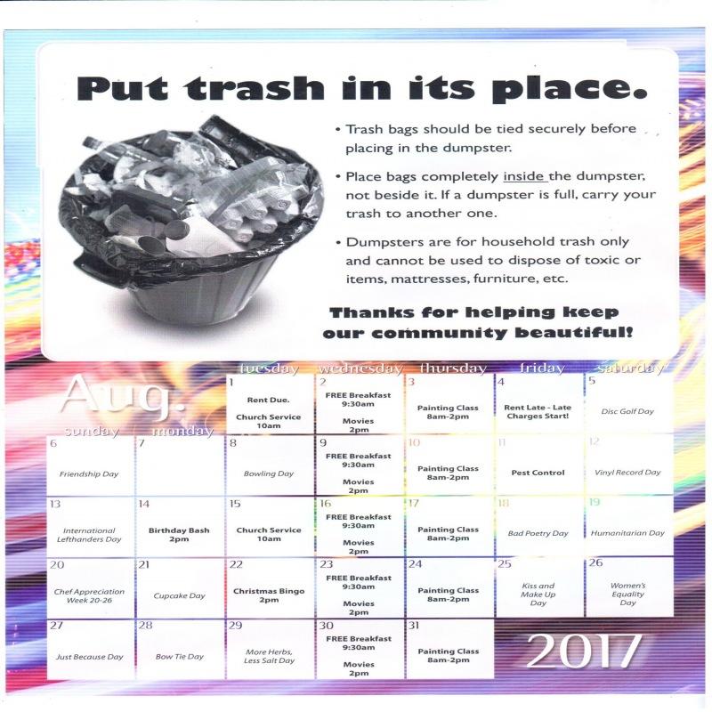 August's Newsletter